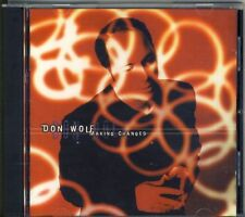 DON WOLF - making changes    CD AOR  WHITE WOLF