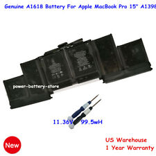 "OEM A1618 Genuine Battery for Apple MacBook Pro 15"" Retina A1398 Mid 2015 99.5Wh"