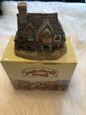 David Winter Cottages Hogs Head Beer House 1985 w/ Box (No Coa)