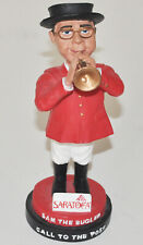 Saratoga Horse Racing Sam The Bugler Grossman Call To The Post Rare Bobblehead