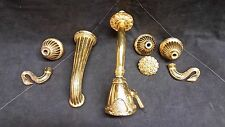 Vintage Phylrich Luxury Gold Swan Baroque Ribbon Shower Bath Tub Faucet Trim Set