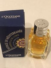 L'Occitane Immortelle De Corse Perfume 7.5ml EDP Voyage Mediterranee Mini Gift💝