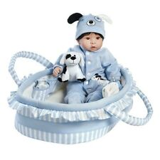 Paradise Galleries Realistic Baby Doll Finn & Sparky Gift USED Open BOX