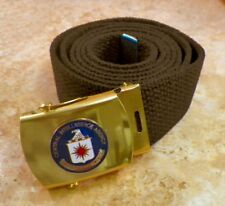 C I A Central intelligence Agency Buckle & Belt