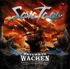Savatage - Return To Wacken (2015) CD - original verpackt - Neuware