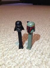 STAR WARS DARTH VADER and BOBBA FETT PEZ DISPENSER Vintage 1997
