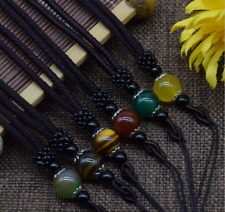 Natural Buddha Necklace Pendant Beads Amulet Good Luck