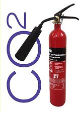 PREMIUM 2 KG CO2 FIRE EXTINGUISHER BRITISH STANDARD OFFICE HOME ELECTRICAL