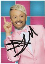 Autogrammkarte Ross Antony - TV - Moderator / Musiker  - Deutschland