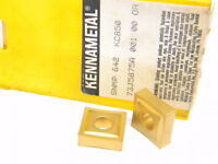 NEW SURPLUS 5PCS. KENNAMETAL  SNMP 642  GRADE: KC850 CARBIDE INSERTS