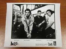 Vintage Glossy Press Photo Rock Band Bush, Gavin Rossdale, Glycerine