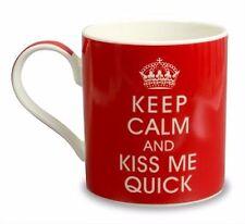 Keep Calm And Kiss Me Quick Mug Boxed Fun Novelty Gift