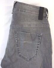 NWT Fifty Five Diesel Women's Prelicious Pantaloni Gray Denim Jeans 27 x 32
