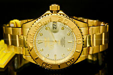 NEW Invicta Pro Diver NH35 AUTOMATIC 24 Jewels COIN EDGE BEZEL Gold S.S Watch