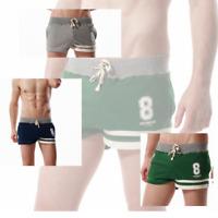 NEW Mens Sport Size Shorts Gym Bodybuilding Training Running Casual Yoga Shorts
