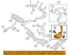 VW VOLKSWAGEN OEM 09-10 Touareg 3.0L-V6-Exhaust Muffler-Front 7L8254800BX