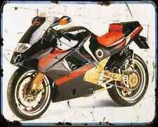 GILERA Cx125 91 4 A4 Metal Sign moto antigua añejada De
