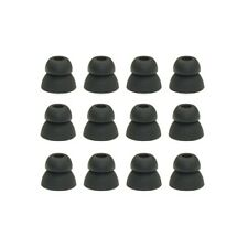 6 pair double flange eaphone tips, earbud tips, 4.5mm connection hole