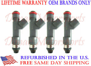 Flow Matched Fuel Injector Set of 4 for 2007-2008 SAAB 9-3