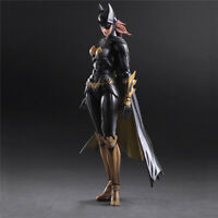 Play Arts Kai Batwoman Arkham Knight Batgirl Action Figure Toy Doll Model