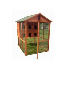LARGE BIRD CAGE ,CHICKEN  WOODEN CAGE , PIGEON CAGE