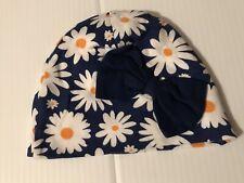 Daisy Flower Baby Girl Beanie Cap Hat Infant Size 12 Months