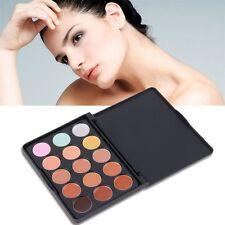15 Color Face Creamy Concealer Hide Blemish Make-up Concealer Cream Set UL