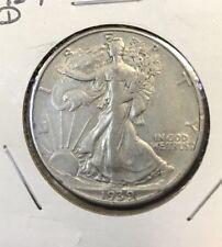 1939 D Walking Liberty Half Dollar XF AU