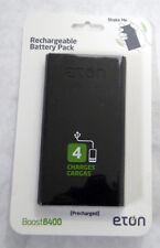 Eton NBOBO8400S Eton Boost 8400 Backup Lithium Ion Battery Pack Anodized Aluminu