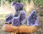 Clearance Amethyst Cut Base Crystal Geodes - Natural Quartz Cluster Specimens
