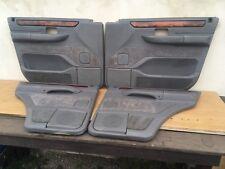 Range Rover P38 Türverkleidung Türpappen Komplett mit Holz Door Cards Set GRAU