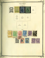 Colombia Clean Mostly Early 1904 to 1980s Stamp Collection