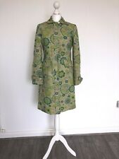 AUTHENTIC MARC JACOBS FLORAL 60'S PRINT COAT JACKET SMALL S!