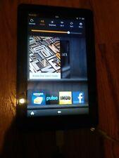 """Amazon Kindle Fire D01E 8GB 7"""" WI-FI  Black  Tablet (1st Gen) unlocked"""