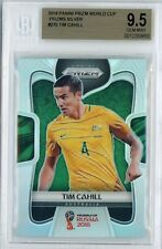 2018 PANINI WORLD CUP PRIZMS SILVER #270 TIM CAHILL REFRACTOR BGS 9.5 GEM MINT