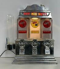 The Challenger Deluxe Hot Nut 5 or 10 Cent Vending Machine