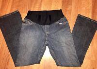 Liz Lange Maternity Jeans Stretch Size 2 Denim Blue Jeans Pants Medium Wash