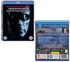 TERMINATOR 3 (2003): THE RISE OF THE MACHINES T-800 vs T-X - NEW Rg Free BLU-RAY