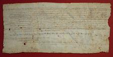 1334 Sant Esteve de Banyoles - Mittelalterliche Pergamenturkunde