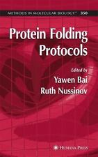 Protein Folding Protocols (Methods in Molecular Biology), , New Book