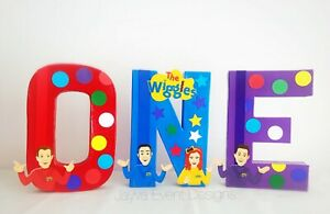 The Wiggles Birthday Party Decoration 1st birthday Letters cake table Emma