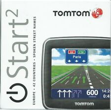 NEW TOMTOM START 2 42 EUROPE COUNTRIES TOUCH SCREEN+SPOKEN STREET NAMES ETC