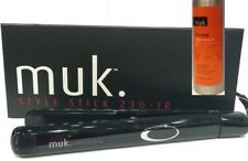 MUK STYLE STICK 230-IR Iron HAIR STRAIGHTENER +FREE HOT MUK THERMAL PROTECTOR
