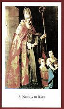 SANTINO - HOLY CARD- IMAGE PIEUSE - Heiligenbild SAN NICOLA DI BARI
