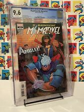 THE MAGNIFICENT MS. MARVEL #13 CGC 9.6 - 1st Appearance Of Amulet