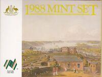 CB570) Australia 1988 RAM unc. coin year set. In original packaging