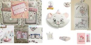 DISNEY MARIE THE CAT ARISTOCATS Duvet Cover Throw Bed Set Primark Cushion Mug
