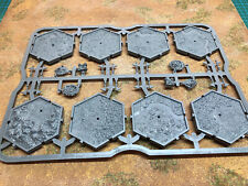 Mighty Empires Main Sprue of 8 Tiles And Markers