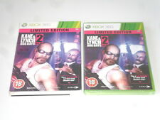 KANE & LYNCH DOG DAYS 2 : LIMITED EDITION  , xbox 360  , new/sealed