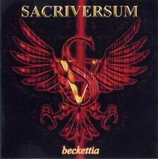 SACRIVERSUM - Beckettia (CD, 2000, Digipak) Death/Thrash Metal from Poland! NEW